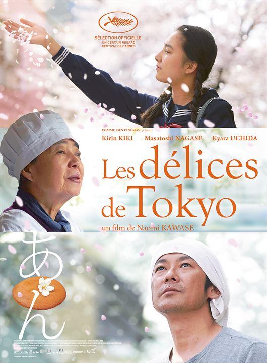 Les Délices de Tokyo : Affiche
