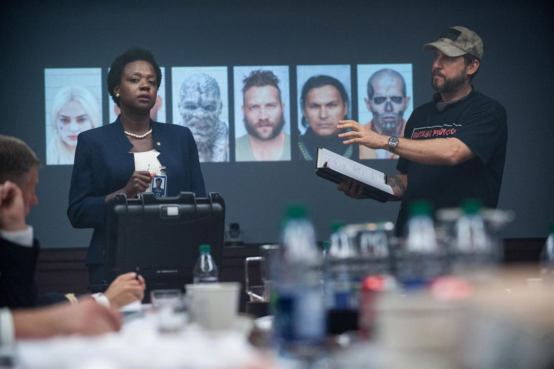 Suicide Squad : Photo David Ayer, Viola Davis