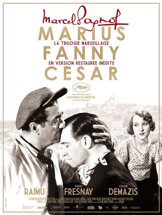 La Trilogie Marseillaise de Marcel Pagnol : César : Affiche