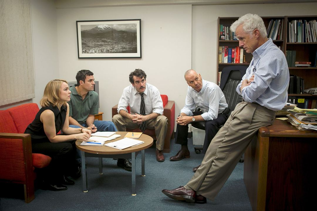 Spotlight : Photo Brian d'Arcy James, John Slattery, Mark Ruffalo, Michael Keaton, Rachel McAdams