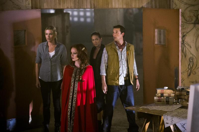 Photo Lesley-Ann Brandt, Lindy Booth, Noah Wyle, Rebecca Romijn