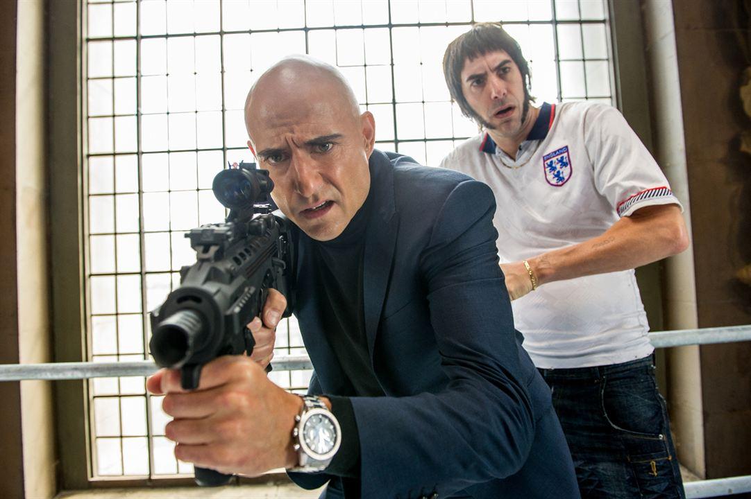 Grimsby - Agent trop spécial : Photo Mark Strong, Sacha Baron Cohen