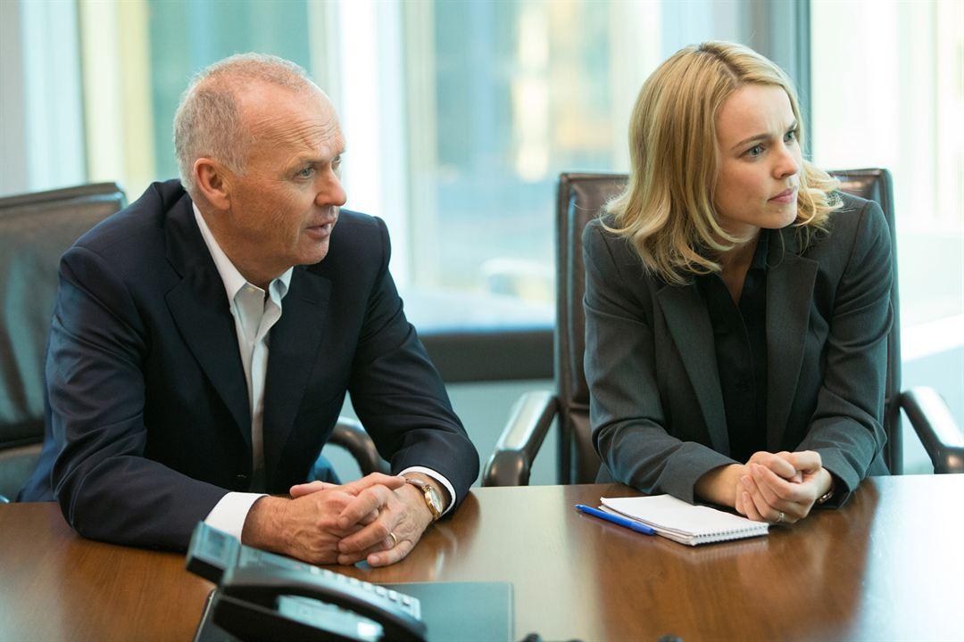 Spotlight : Photo Michael Keaton, Rachel McAdams