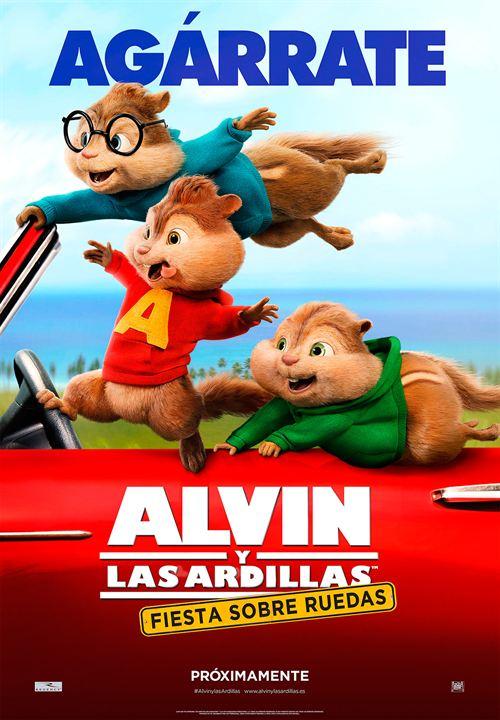Alvin et les Chipmunks - A fond la caisse : Affiche