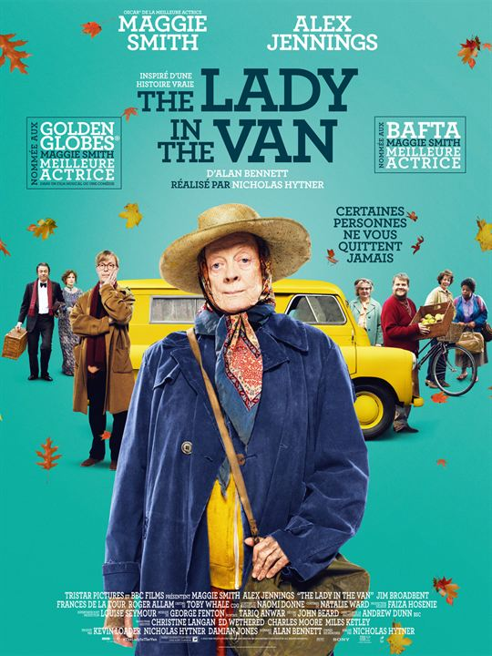 The Lady In The Van : Affiche