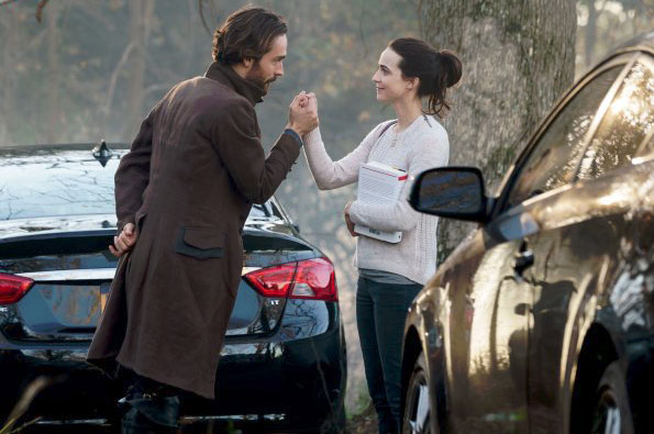Photo Maya Kazan, Tom Mison
