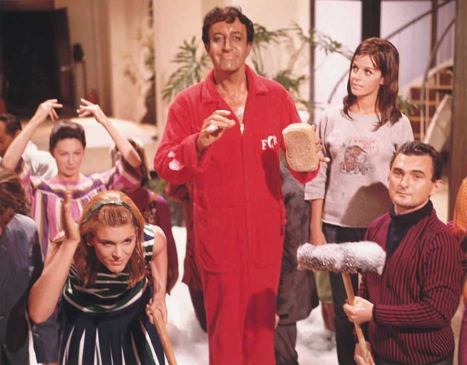 The Party : Photo Claudine Longet, Peter Sellers