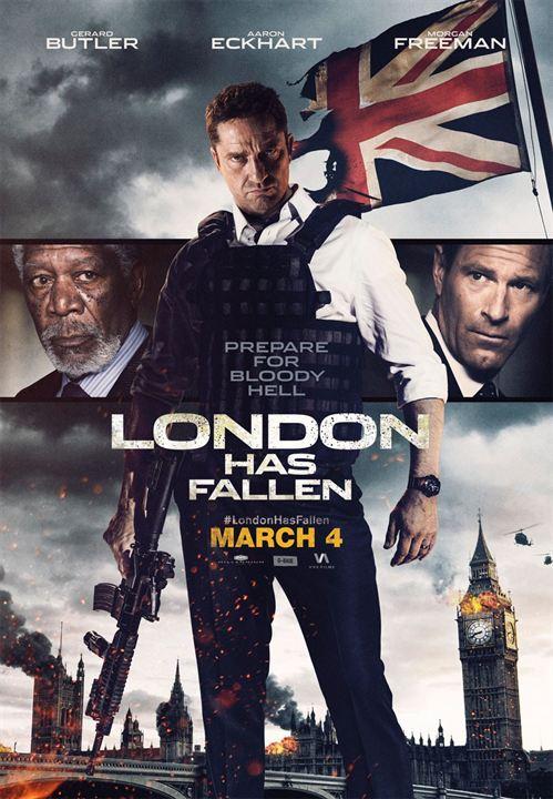 Affiche Du Film La Chute De Londres Affiche 2 Sur 7