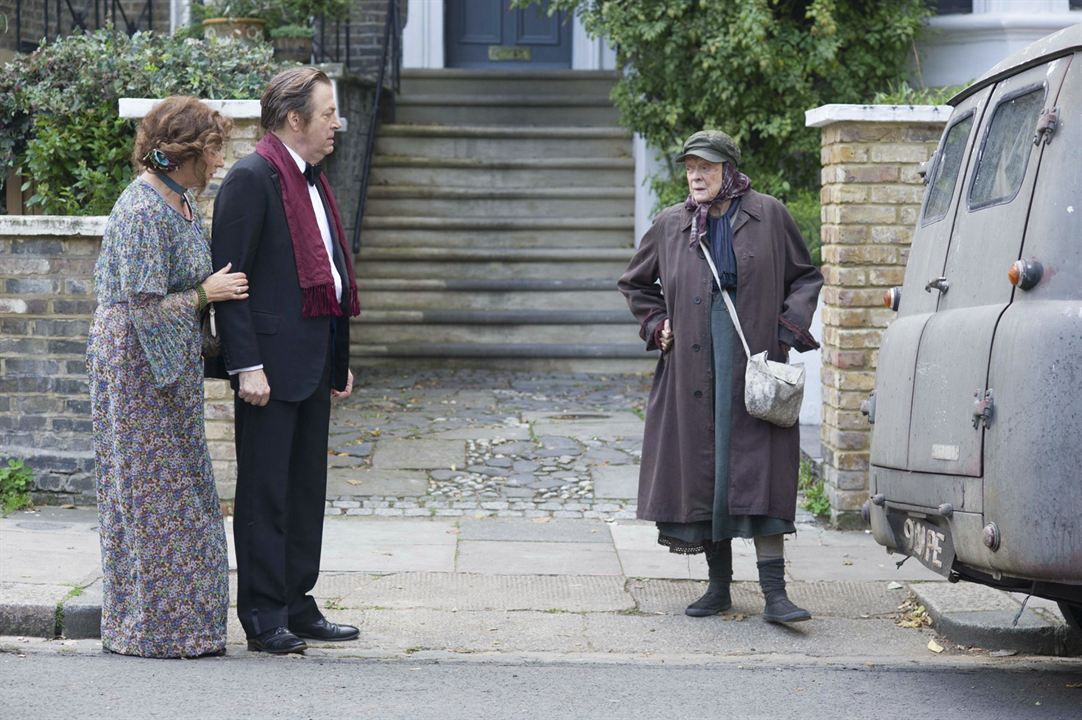 The Lady In The Van : Photo Maggie Smith, Roger Allam
