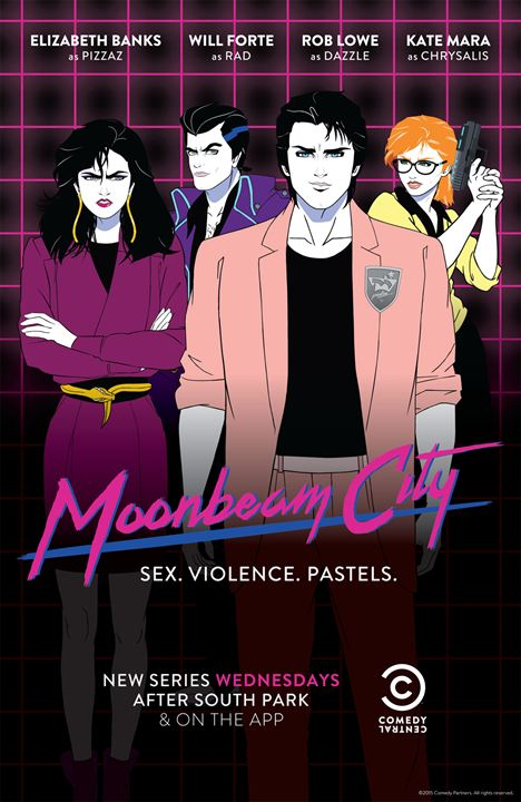 Moonbeam City : Affiche