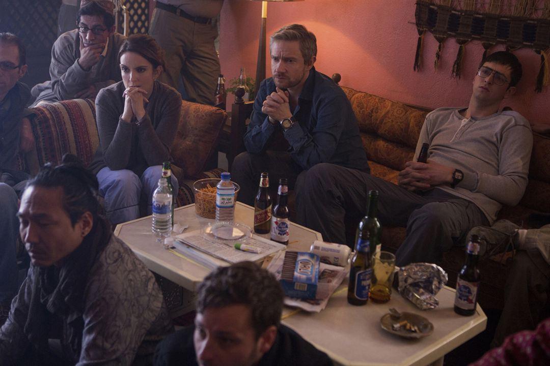 Whiskey Tango Foxtrot : Photo Martin Freeman, Nicholas Braun, Tina Fey
