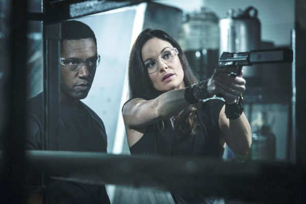 Photo Sarah Wayne Callies, Tory Kittles