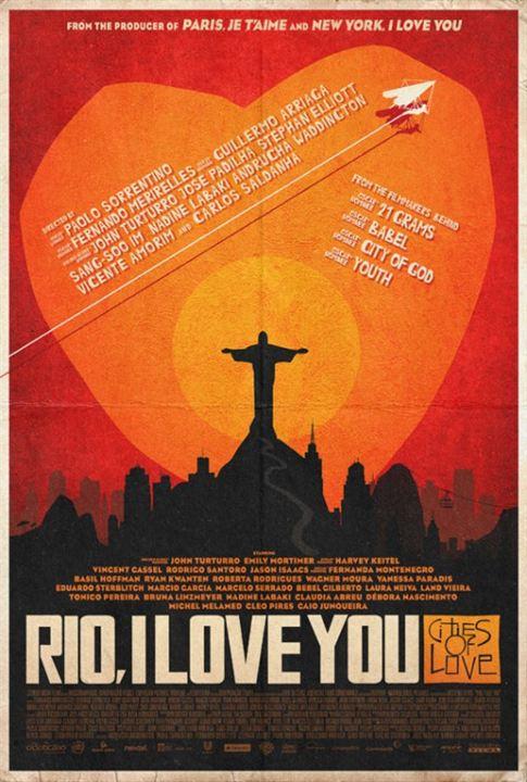 Rio, I love you : Affiche