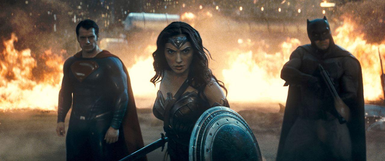 Batman v Superman : L'Aube de la Justice : Photo Ben Affleck, Gal Gadot, Henry Cavill
