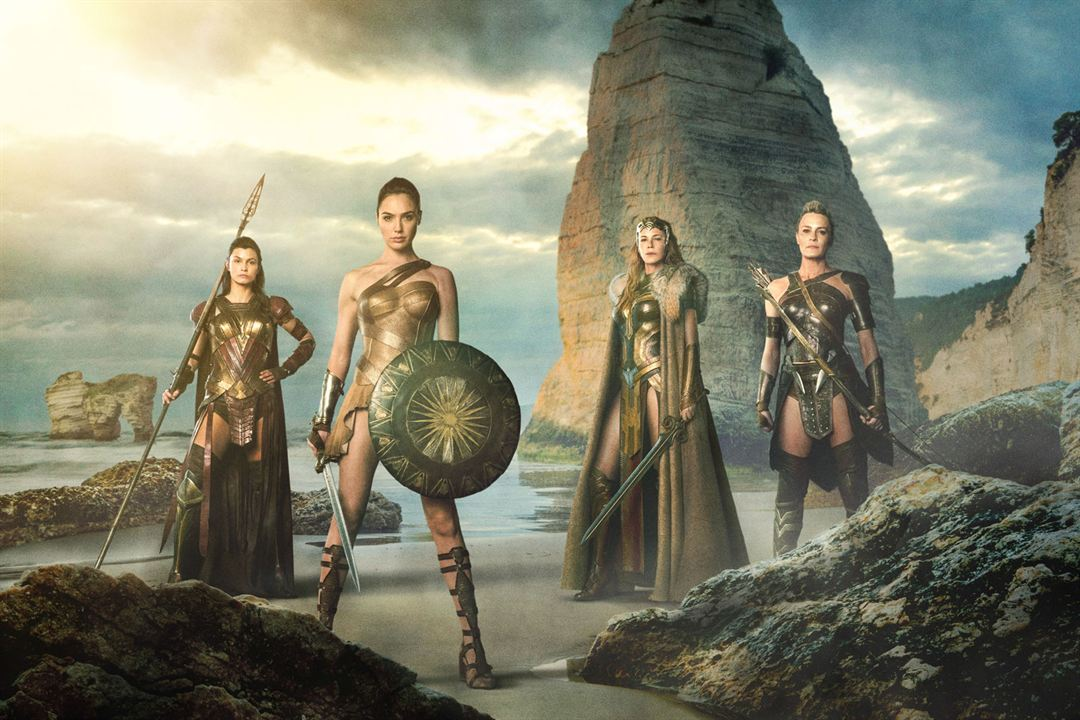 Wonder Woman : Photo Connie Nielsen, Gal Gadot, Lisa Loven Kongsli, Robin Wright