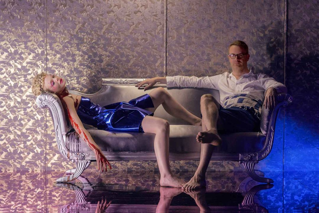 The Neon Demon : Photo Elle Fanning, Nicolas Winding Refn