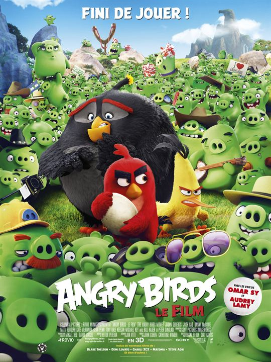 Angry Birds - Le Film : Affiche