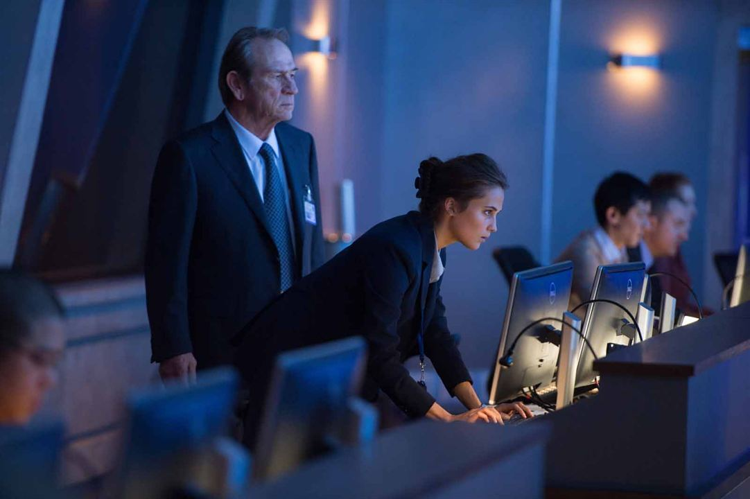 Jason Bourne : Photo Alicia Vikander, Tommy Lee Jones