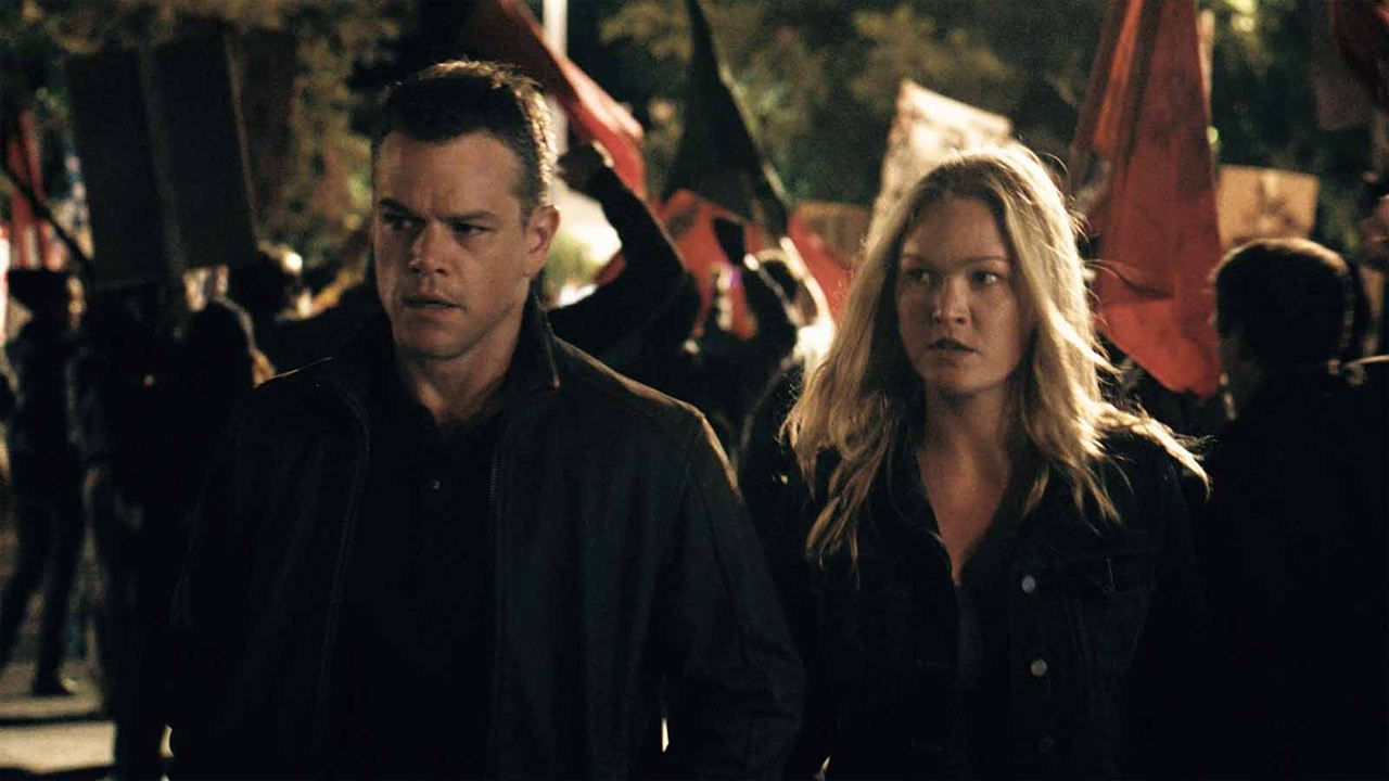 Jason Bourne : Photo Julia Stiles, Matt Damon