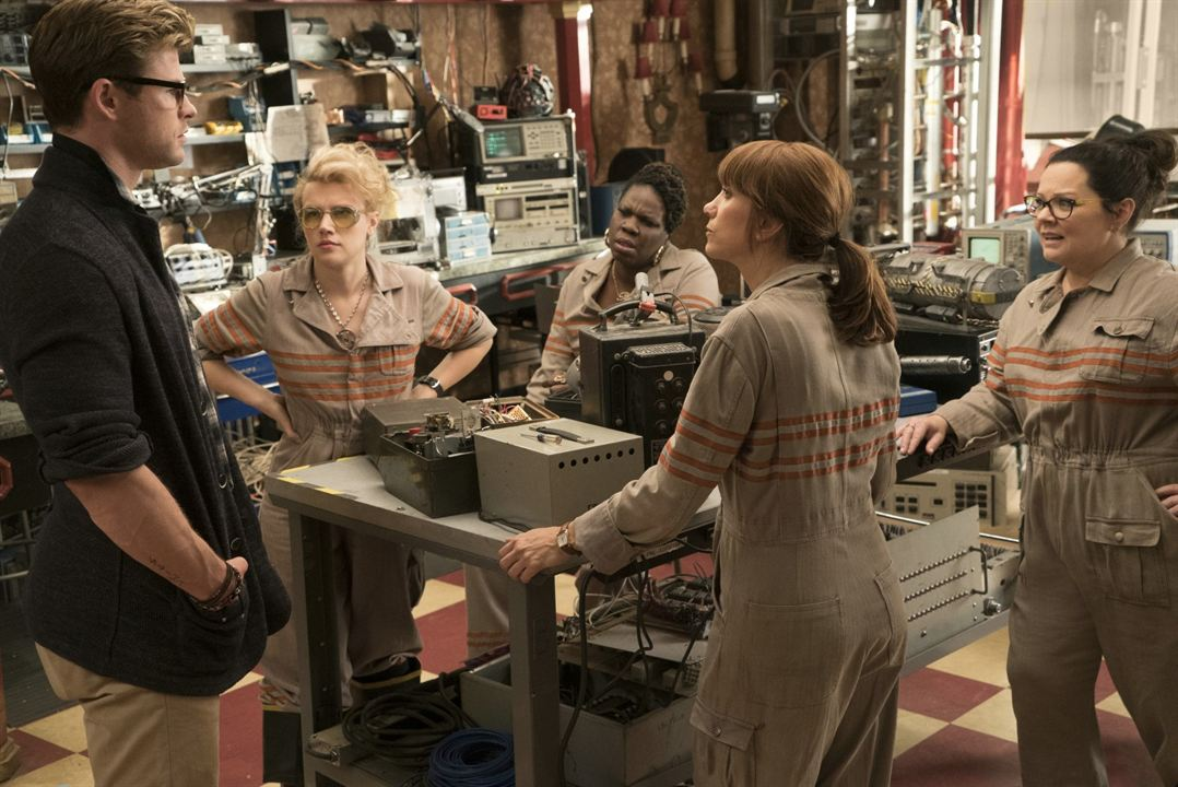 S.O.S. Fantômes : Photo Chris Hemsworth, Kate McKinnon, Kristen Wiig, Leslie Jones (II), Melissa McCarthy