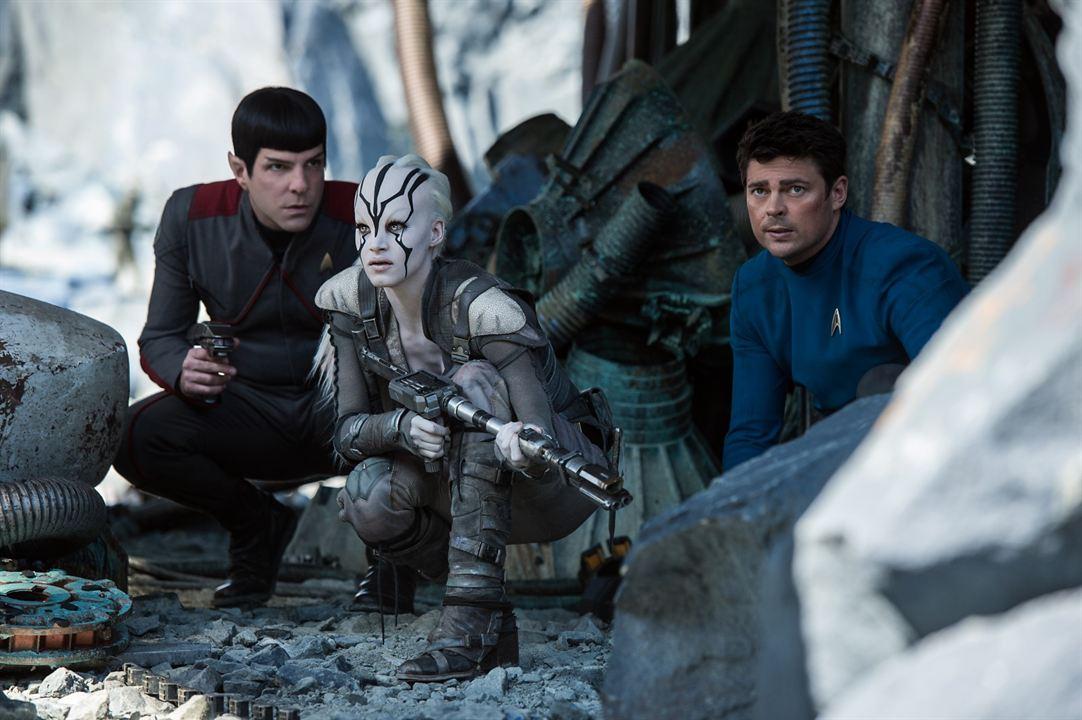 Star Trek Sans limites : Photo Karl Urban, Sofia Boutella, Zachary Quinto