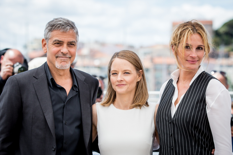 Money Monster : Photo promotionnelle George Clooney, Jodie Foster, Julia Roberts