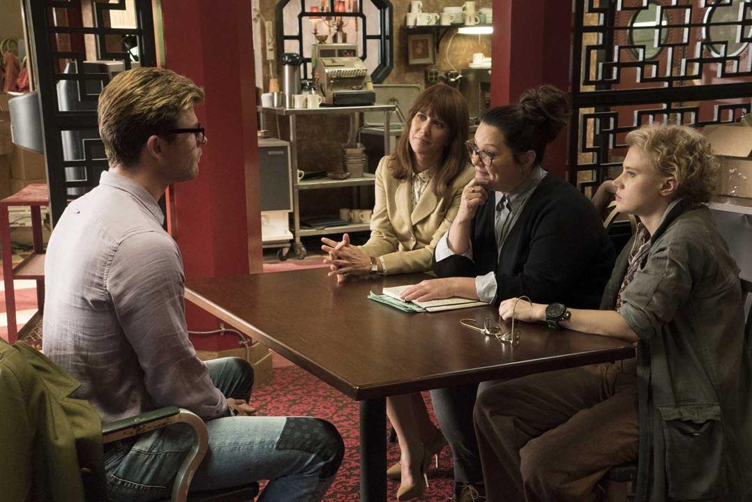 S.O.S. Fantômes : Photo Chris Hemsworth, Kate McKinnon, Kristen Wiig, Melissa McCarthy