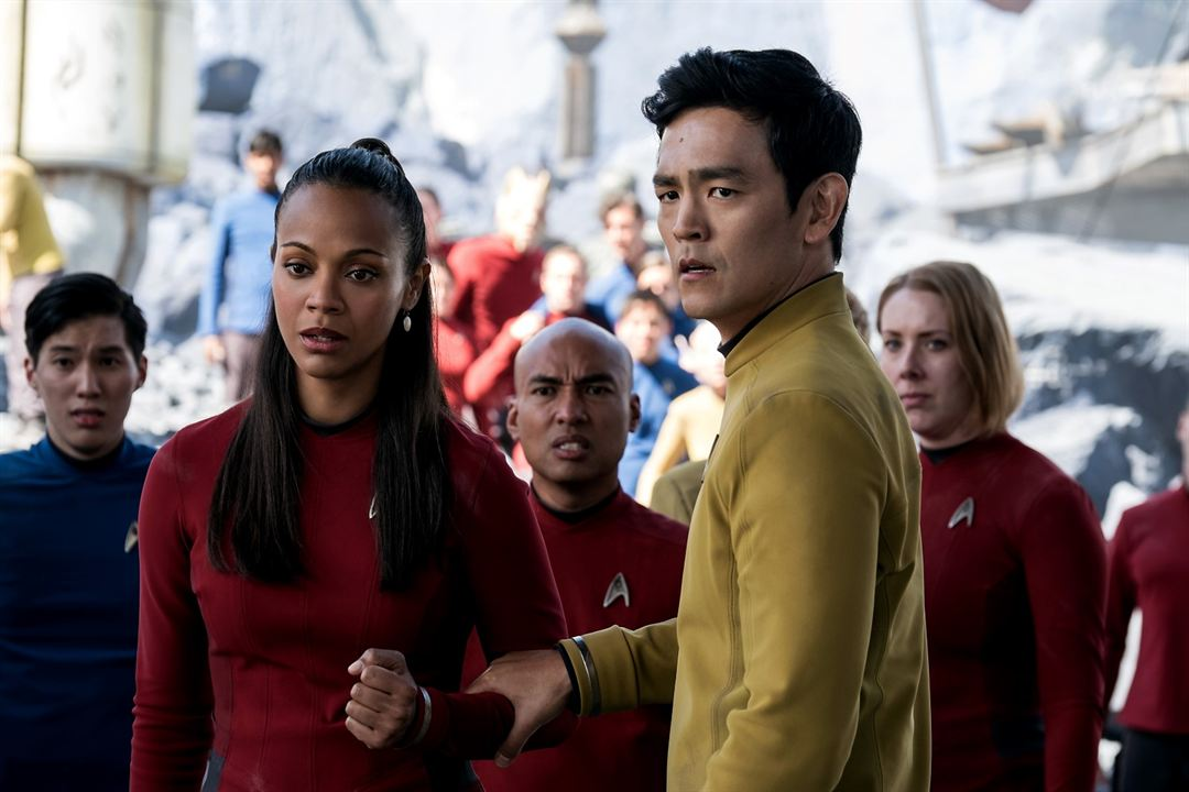 Star Trek Sans limites : Photo John Cho, Zoe Saldana