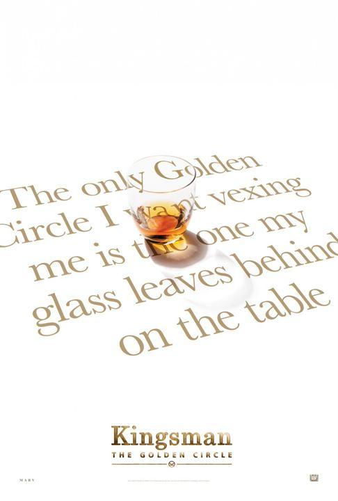 Kingsman : Le Cercle d'or : Affiche