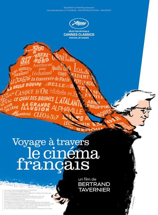 Voyage à travers le cinéma français : Affiche