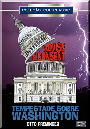 Tempête à Washington : Affiche