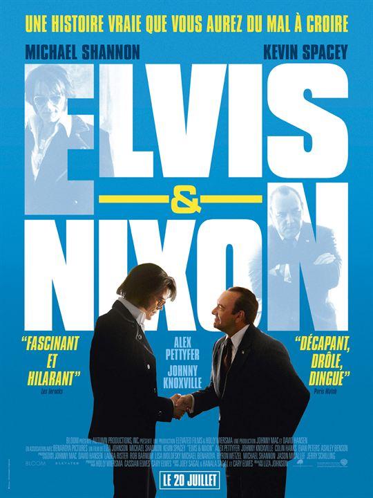 Elvis & Nixon : Affiche