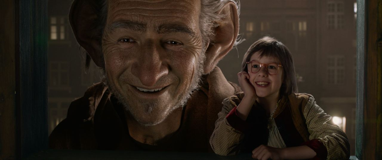 Le BGG – Le Bon Gros Géant : Photo Mark Rylance, Ruby Barnhill
