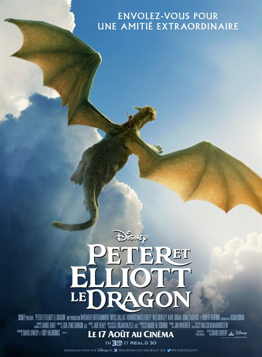 Peter et Elliott le dragon : Affiche