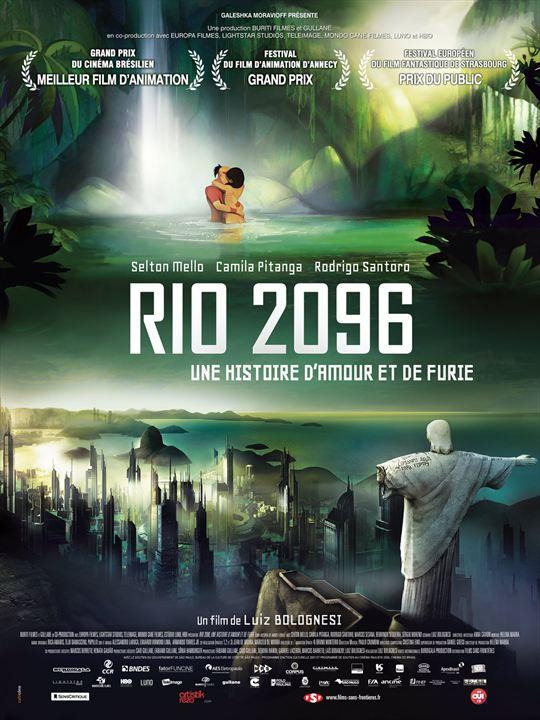 Rio 2096 : Une histoire d'amour et de furie : Affiche