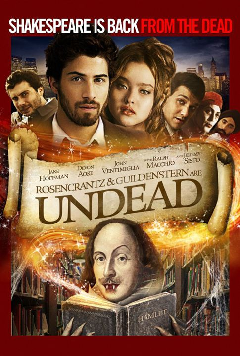Rosencrantz and Guildenstern are Undead : Affiche