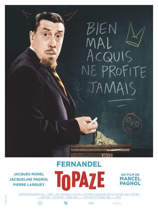 """Résultat de recherche d'images pour """"affiche du film topaze"""""""