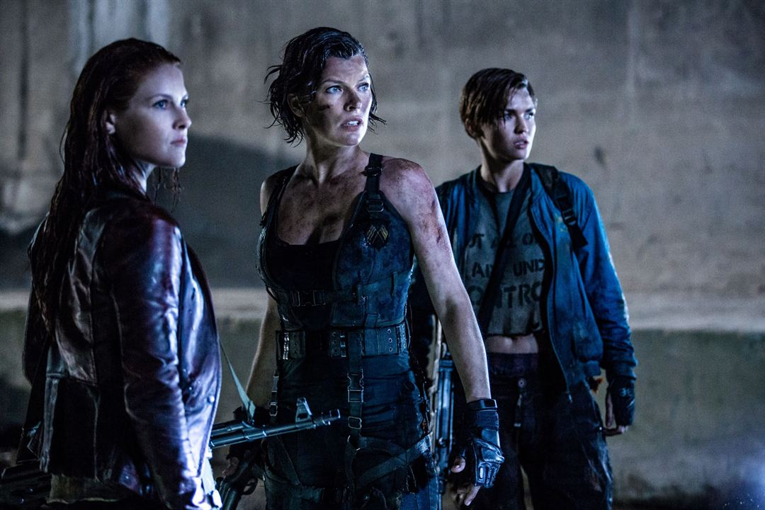 Resident Evil : Chapitre Final : Photo Ali Larter, Milla Jovovich, Ruby Rose