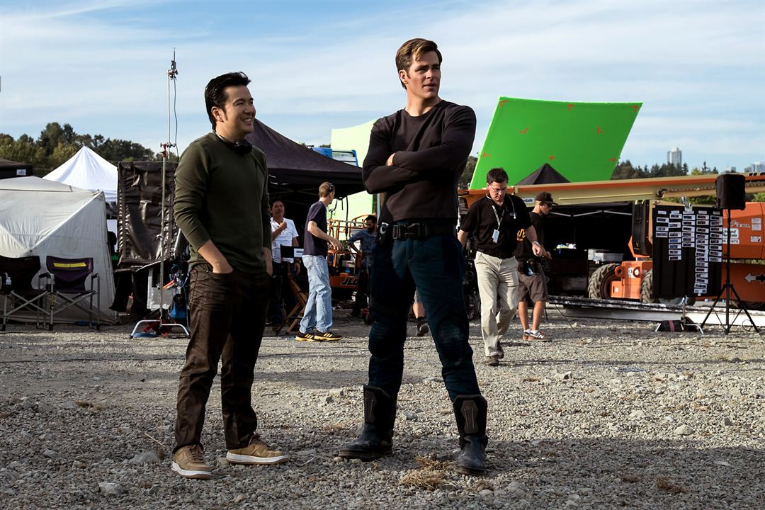 Star Trek Sans limites : Photo Chris Pine, Justin Lin