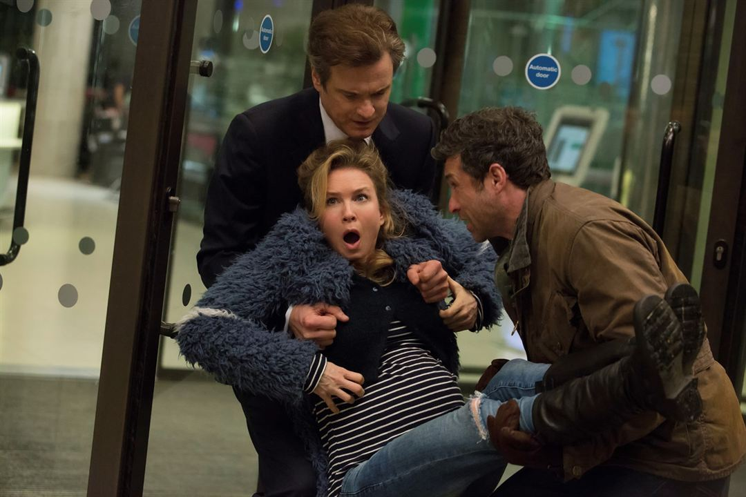 Bridget Jones Baby : Photo Colin Firth, Patrick Dempsey, Renée Zellweger