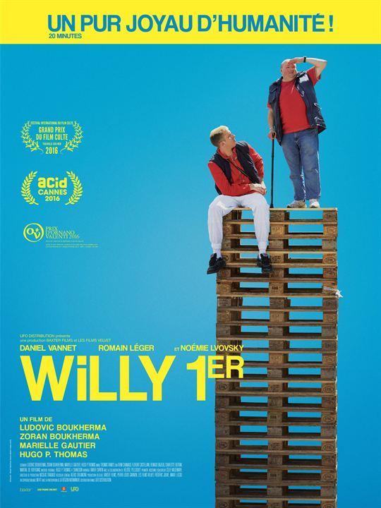 Willy 1er : Affiche