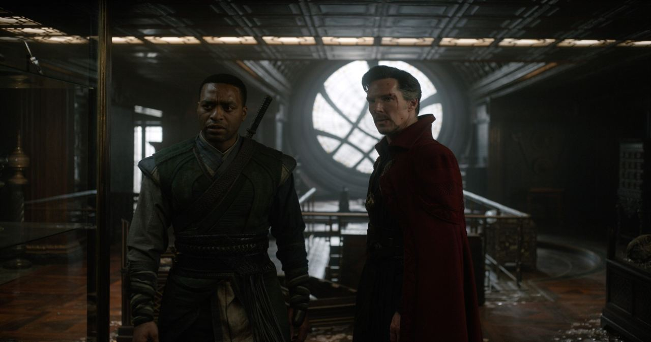 Doctor Strange : Photo Benedict Cumberbatch, Chiwetel Ejiofor