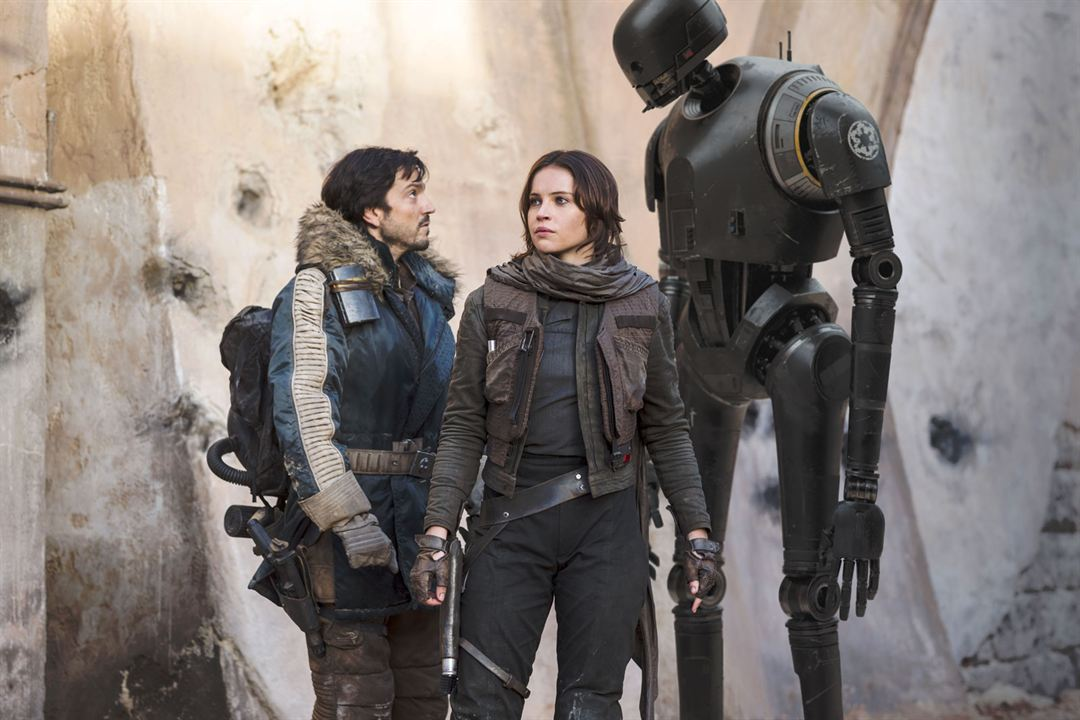 Rogue One: A Star Wars Story : Photo Diego Luna, Felicity Jones