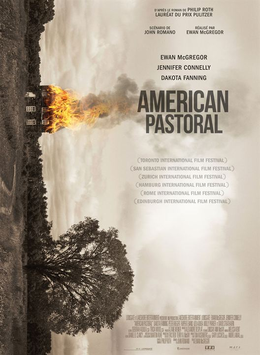 affiche du film american pastoral affiche 2 sur 2 allocin. Black Bedroom Furniture Sets. Home Design Ideas