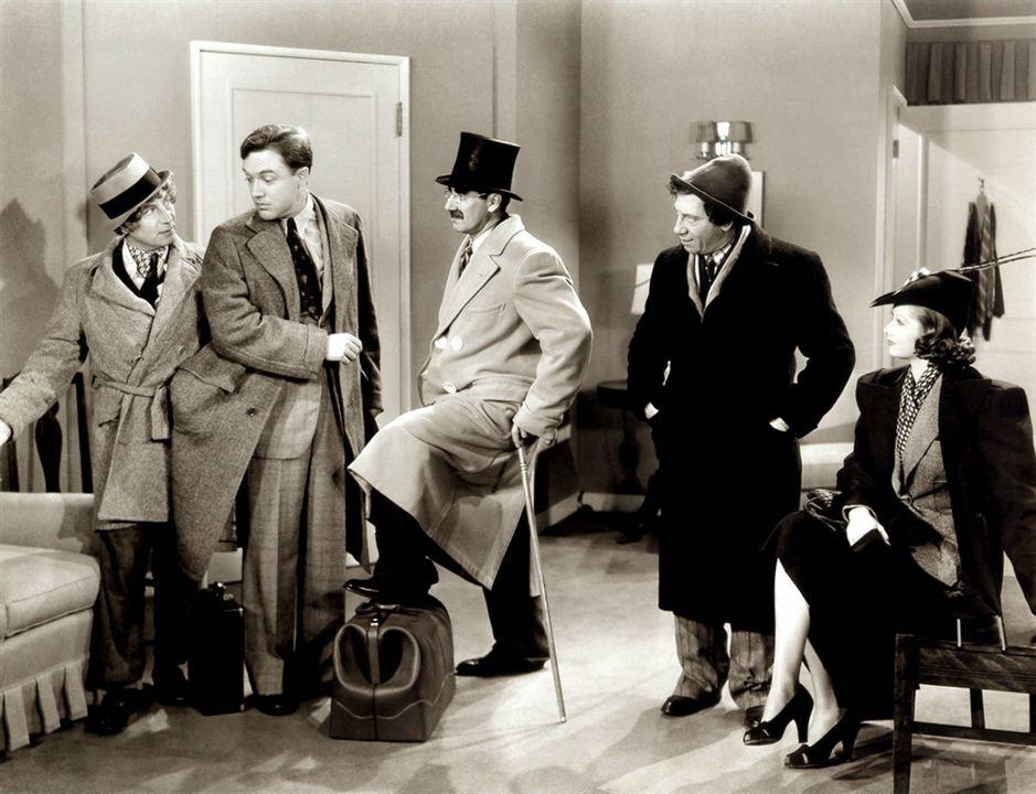 Panique a l'hôtel : Photo Chico Marx, Groucho Marx, Harpo Marx
