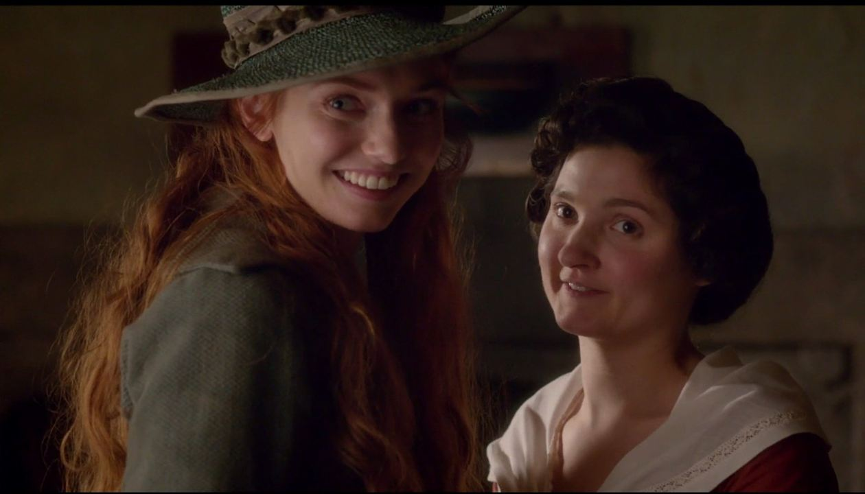 Photo Eleanor Tomlinson, Ruby Bentall