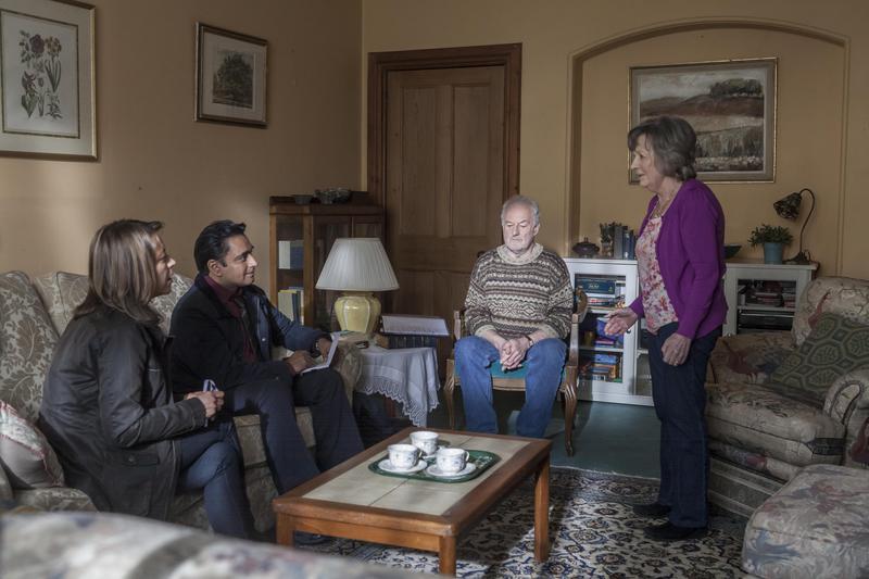 Photo Bernard Hill, Hannah Gordon, Nicola Walker, Sanjeev Bhaskar