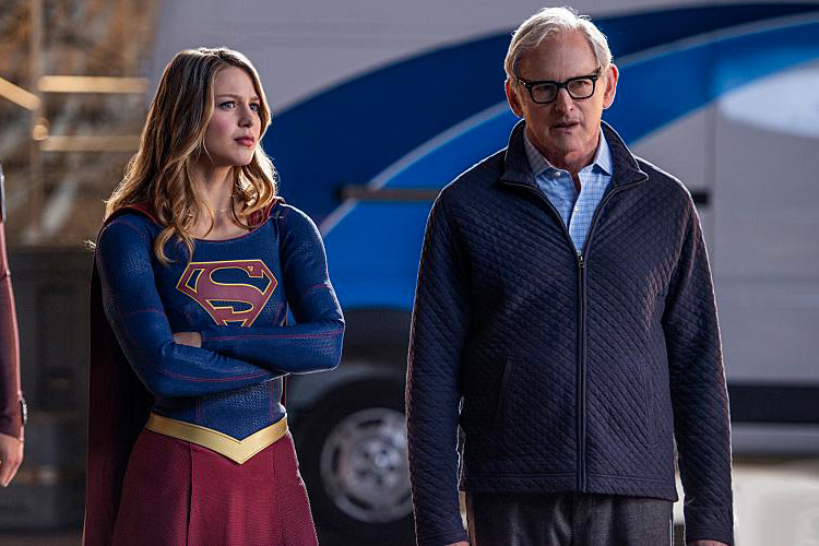 Photo Melissa Benoist, Victor Garber