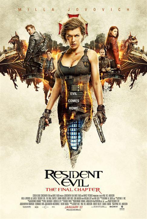 Resident Evil : Chapitre Final : Affiche