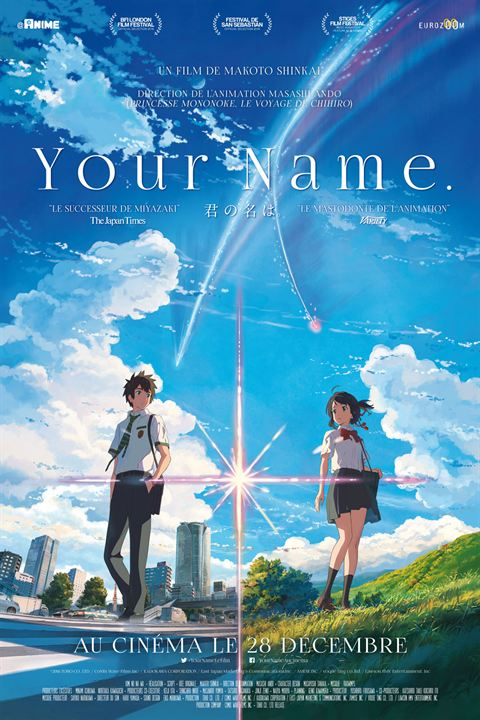 Your Name : Affiche